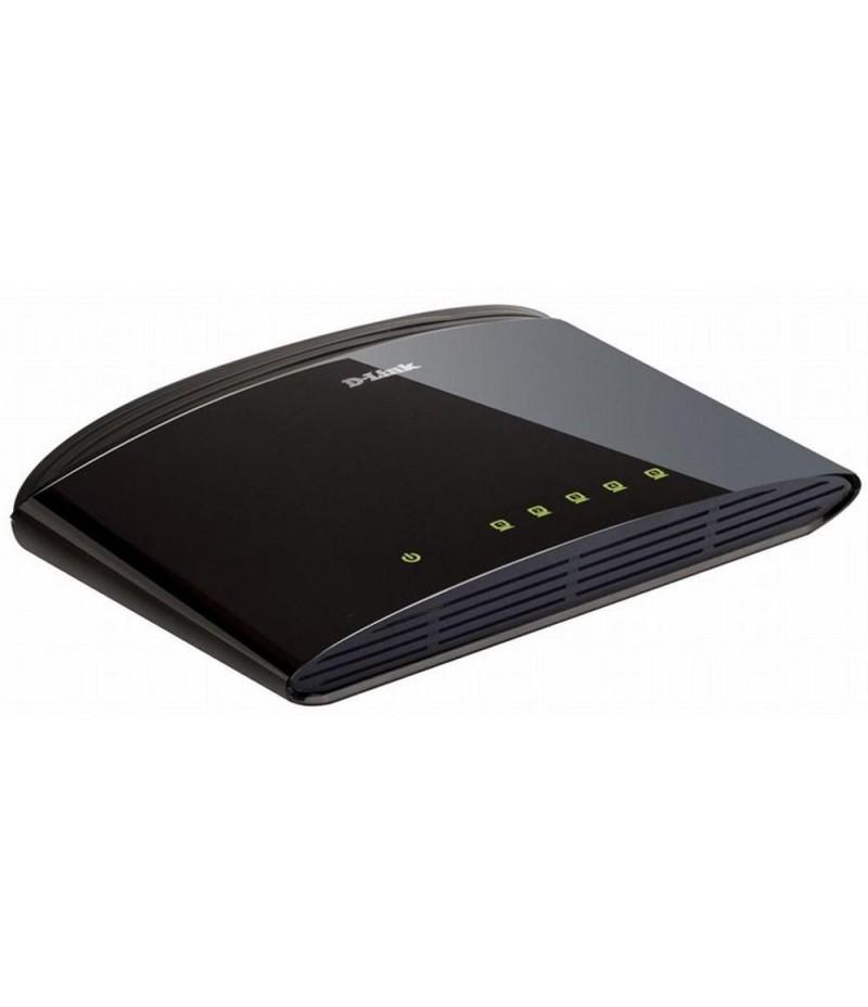 D-Link 5-Port 10/100Mbps Fast Ethernet Unmanaged Switch