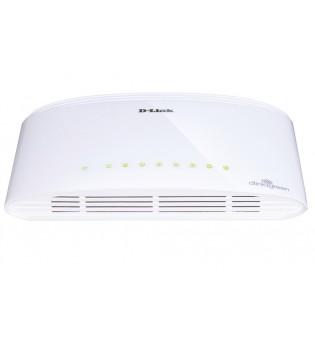 D-Link 8-Port 10/100/1000Mbps Copper Gigabit Ethernet Switch