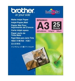 Brother BP-60 A3 Innobella Matt Photo Paper (A3/25 sheets)