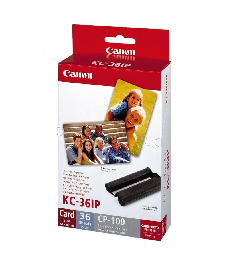 Canon Color Ink/Paper set KC-36IP (Credit card size) 36 sheets