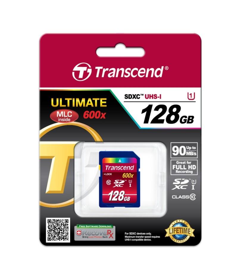 Transcend 128GB SDXC UHS-I (Class10)