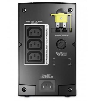 APC Back-UPS 500VA, AVR, IEC outlets