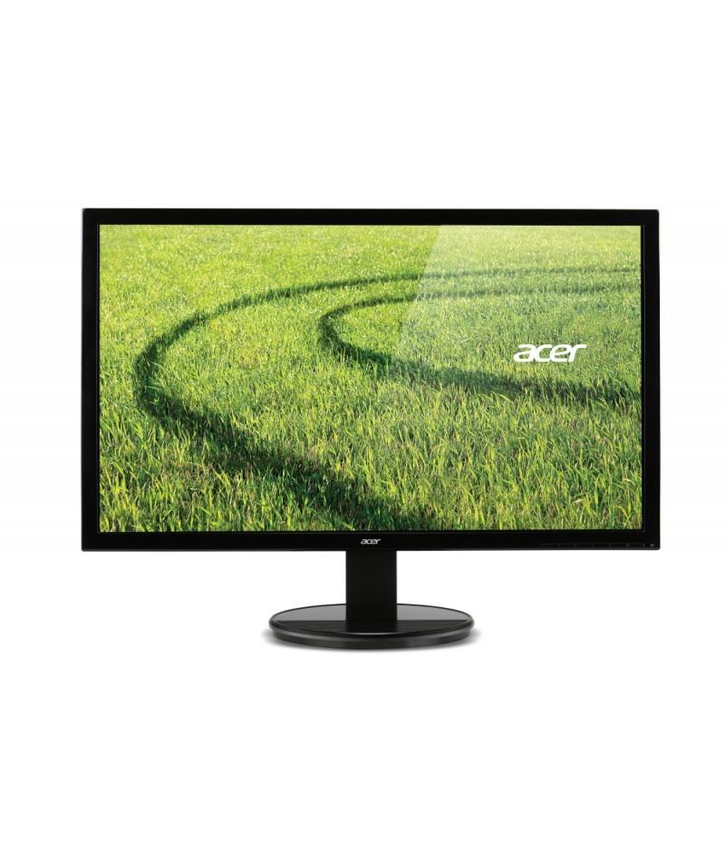 "Acer K202HQLAb, 19,5"" Wide TN LED, 5 ms, 100M:1 DCR, 200 cd/m2, 1366x768, VGA, Black"