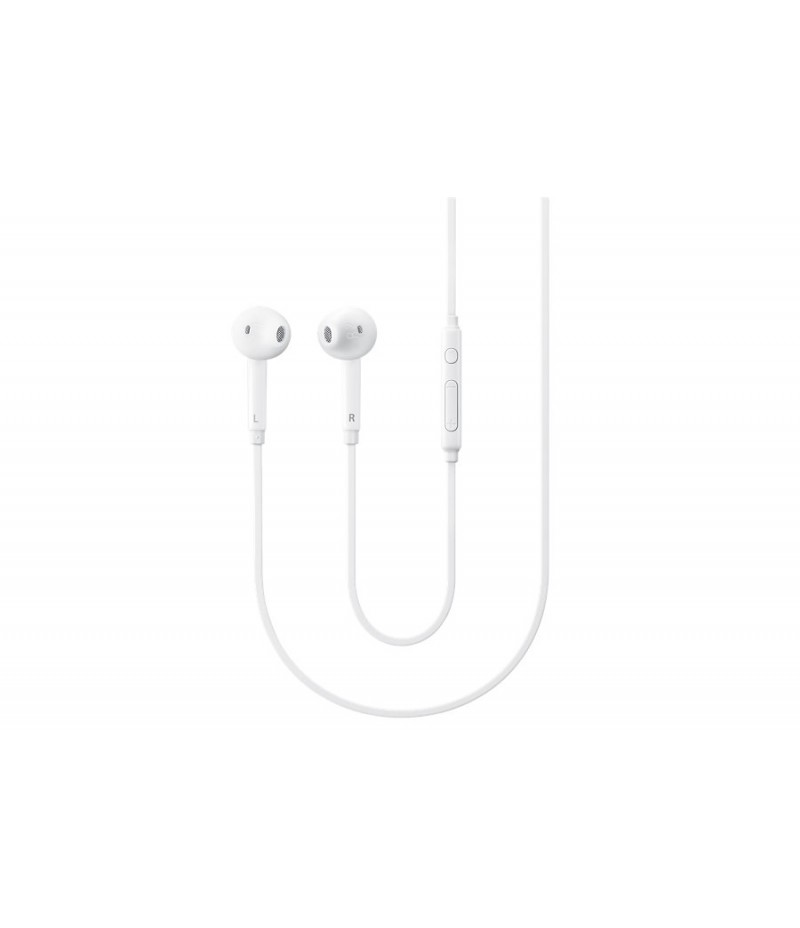 Samsung EG920 Headphones In-ear FIT with Remote, Mic, 3 Button Key, White