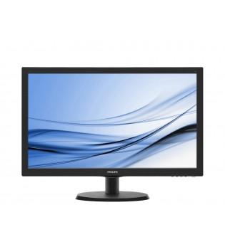 """Philips 223V5LSB2/10, 21.5"""" Wede, TN, LED, 5ms, 600:1, 10M:1 DCR, 200 cd/m2, 1920x1080@60Hz, Tilt, D-Sub, Black"""