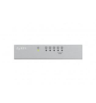 ZyXEL ES-105AV3, 5-port 10/100Mbps Ethernet switch, 2x QoS (!), desktop, metal housing
