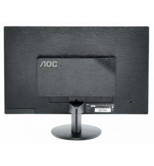 """AOC E2270SWHN, 21.5"""" Wide TN LED, 5 ms, 20M:1 DCR, 200 cd/m2, FullHD 1920x1080, HDMI, Black"""