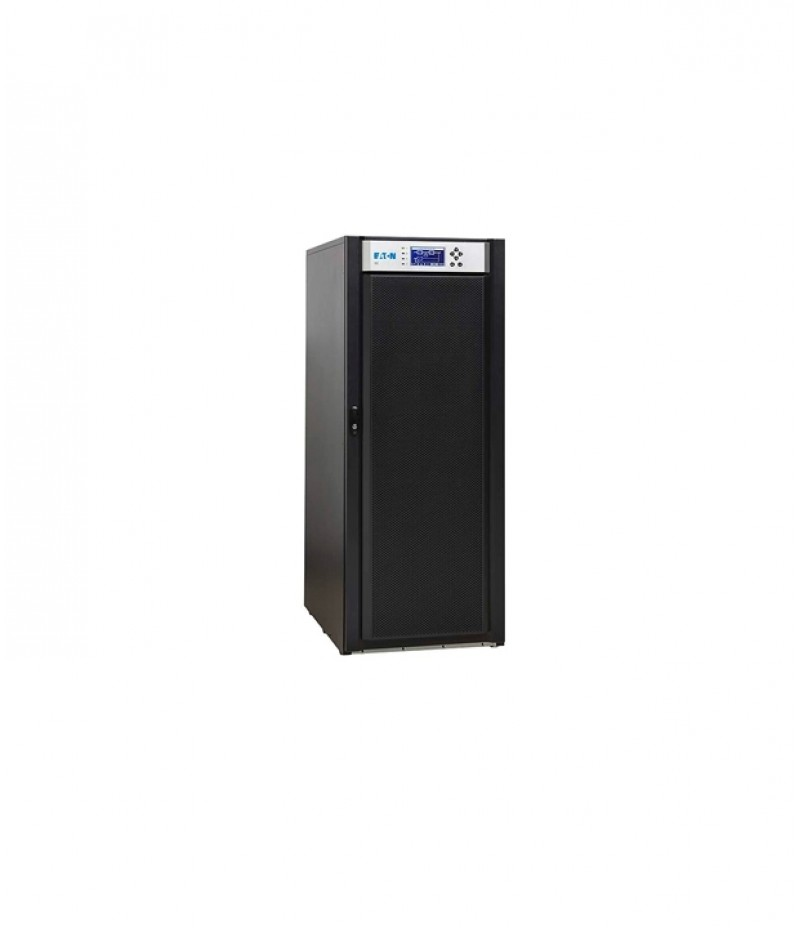 Eaton 93E 20kVA Frame, 15kVA Rating; With backfeed protection; MBS; Internal batteries 32x9Ah