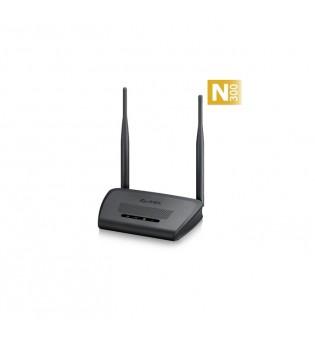 ZyXEL NBG-418N v2, Router Wireless 802.11n (300Mbps), 4x10/100Mbps, WPA2, 2x 5dBi antenna