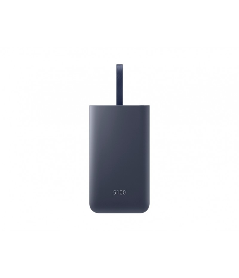 Samsung External Battery 5,100mAh / Fast charge In & Out (Max. 15W) / Type C / Combo cable Navy Blue