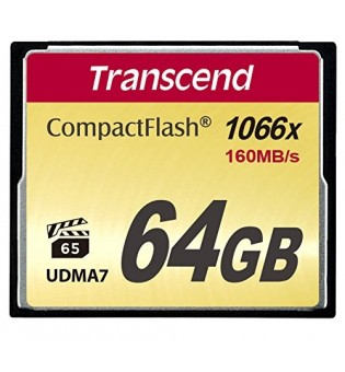 Transcend 64GB CF Card (1066x)