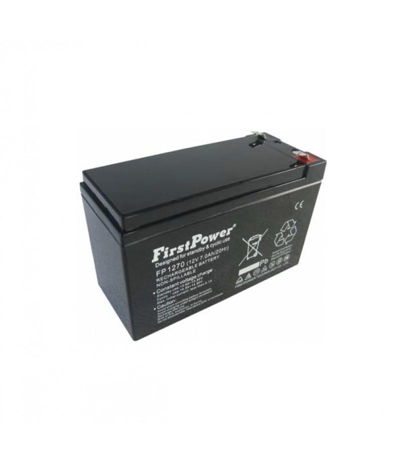 FirstPower FP7-12 - 12V 7Ah F1