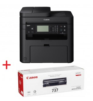 Canon i-SENSYS MF237w Printer/Scanner/Copier/Fax + Canon CRG-737