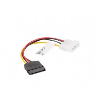 Lanberg molex (m) -> SATA (f), cable 15cm