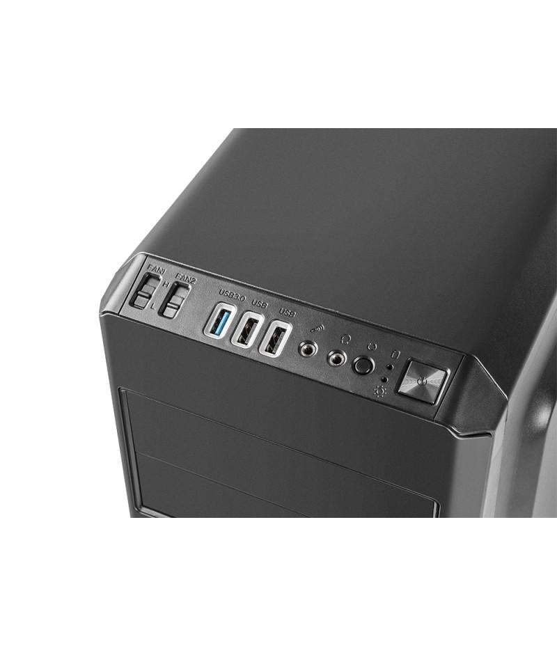 Genesis Case Titan 550 Plus Midi Usb 3.0