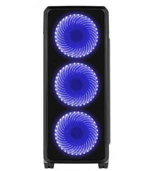 Genesis Case Titan 750 Blue Midi Tower Usb 3.0
