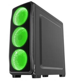 Genesis Case Titan 750 Green Midi Tower Usb 3.0