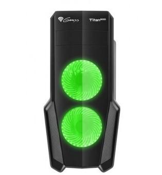 Genesis Case Titan 800 Green Midi Tower Usb 3.0