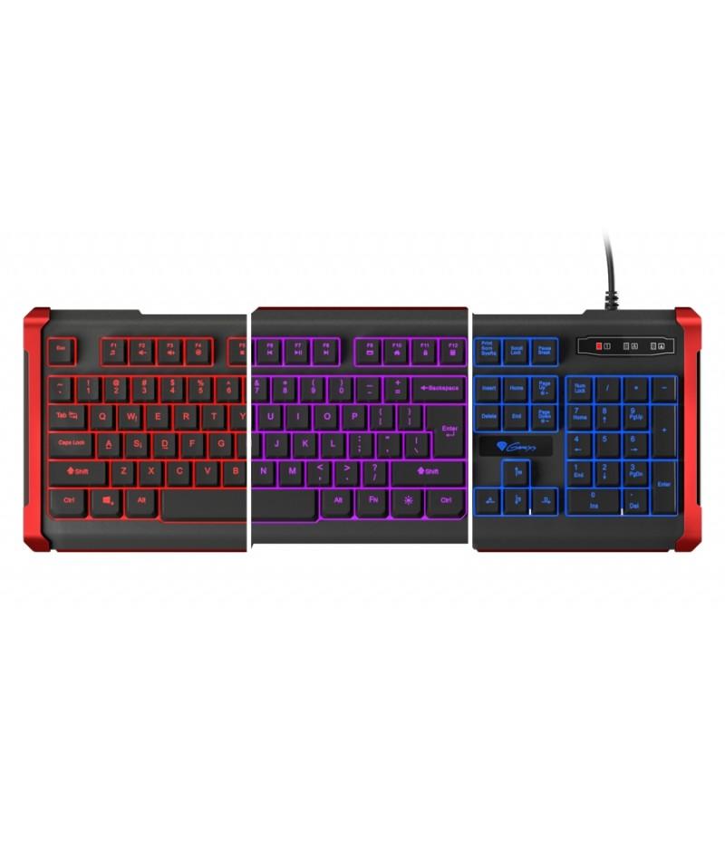 Genesis Gaming Keyboard Rhod 410 Backlight Us Layout