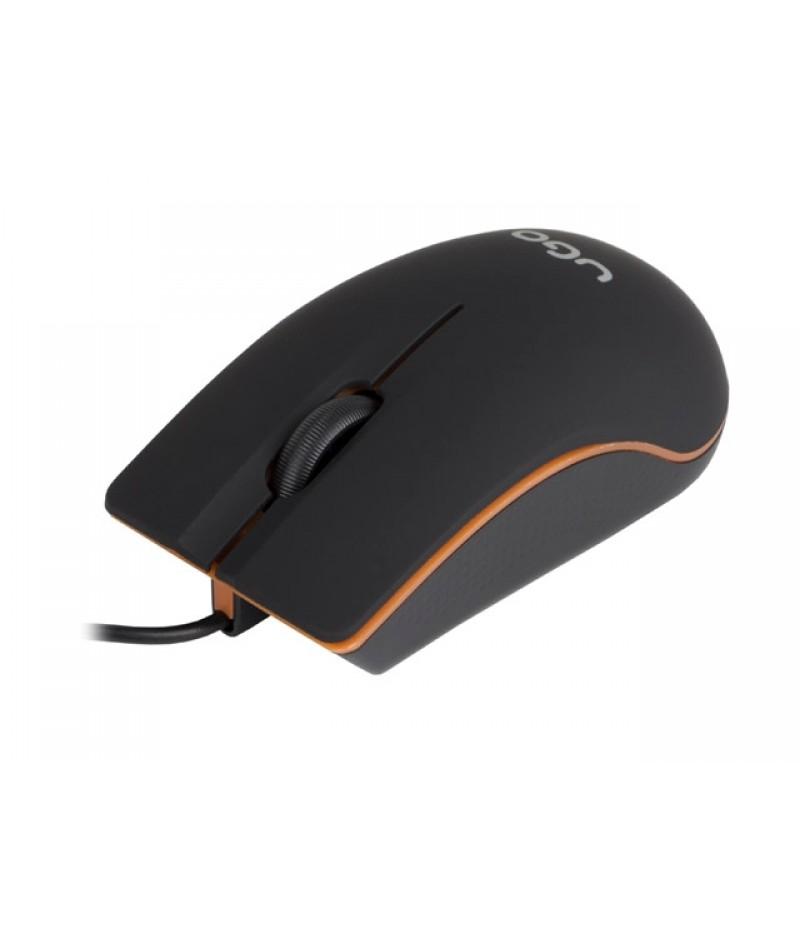uGo Mouse MY-05 wired optical 1200DPI, Black