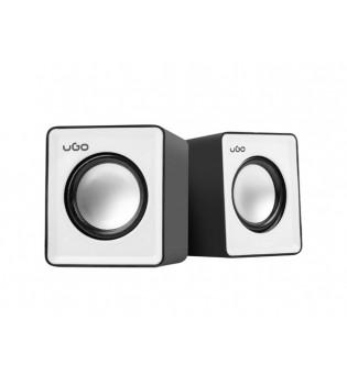uGo Speakers 2.0 office 6W RMS Black-white