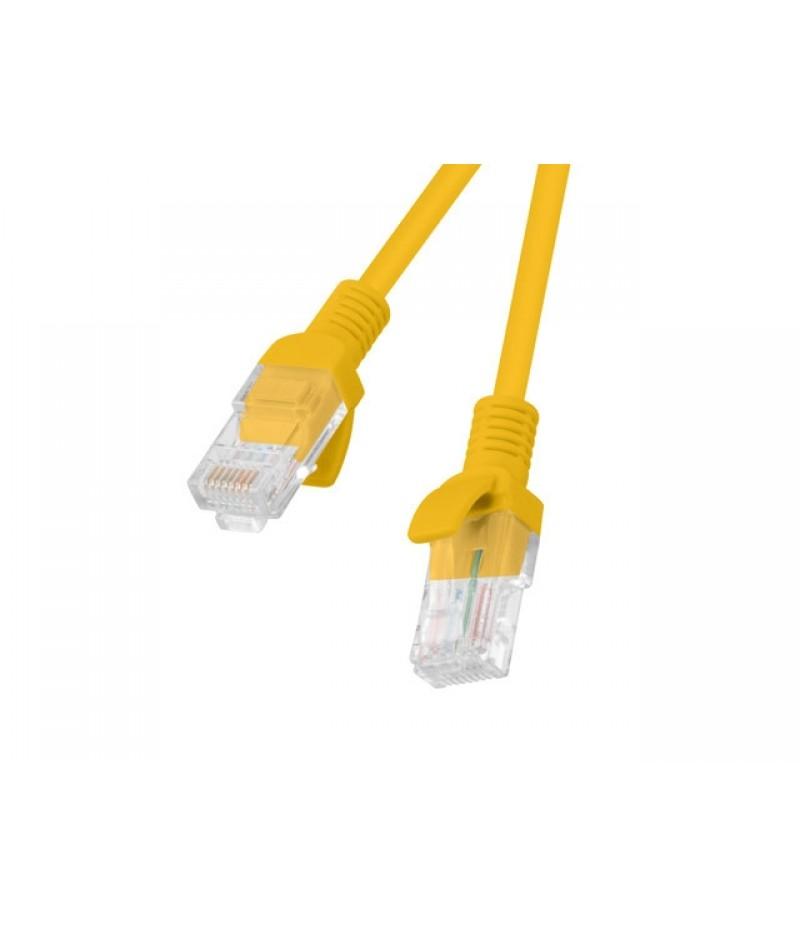 Lanberg patch cord CAT.5E 1m, orange