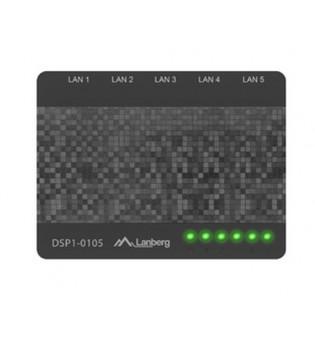 Lanberg switch DSP1-0105 5-port, 100MB/s