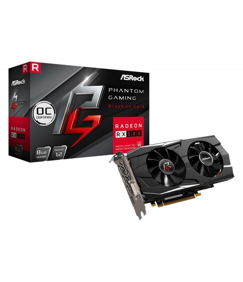 Asrock PG D Radeon RX580 8G OC