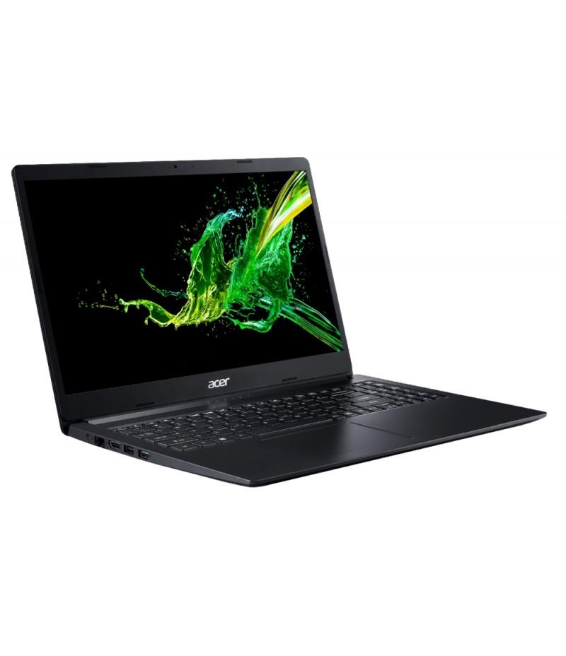 "Acer Aspire 3, A315-34-C2NL, Intel Celeron N4100 Quad-Core (up to 2.40GHz, 4MB), 15.6"" FHD (1920x1080) AG, HD Cam, 4GB DDR4 (1 slot free), 256GB SSD M.2 PCIe NVMe, Intel UMA Graphics, BT 4.1, Linux, Black"