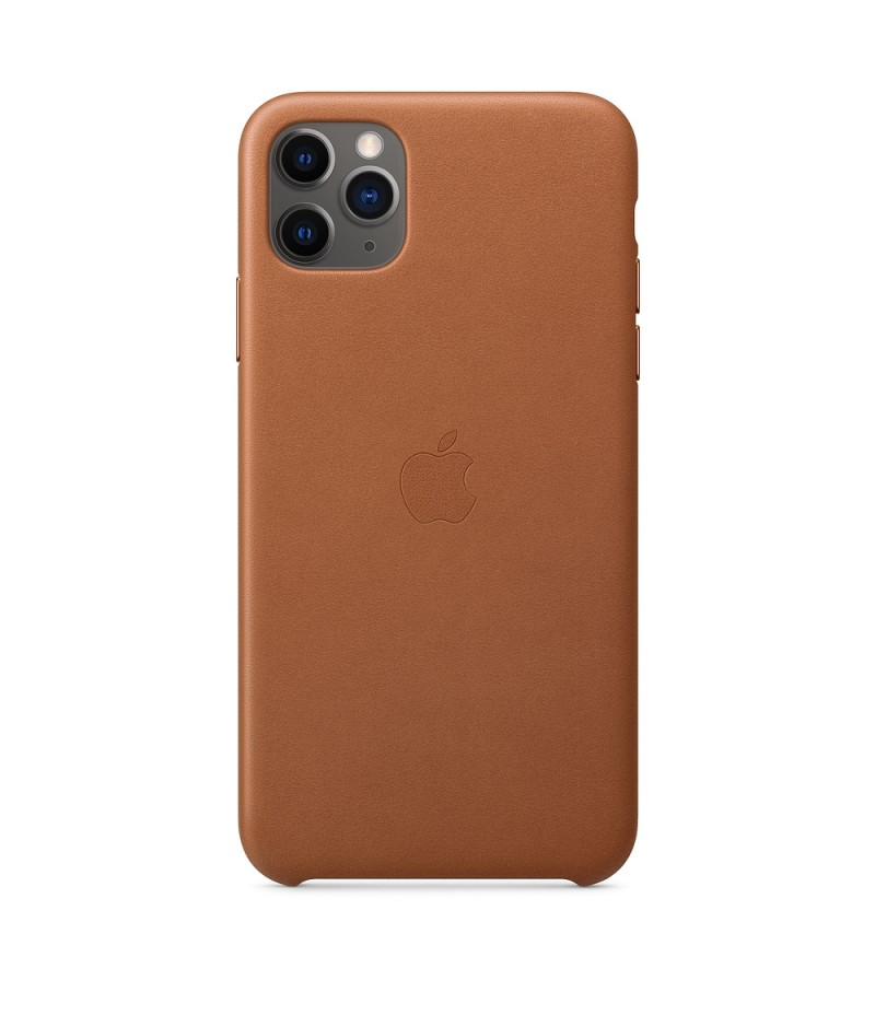 Apple iPhone 11 Pro Max Leather Case - Saddle Brown