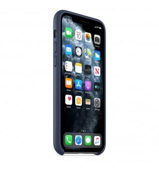 Apple iPhone 11 Pro Leather Case - Midnight Blue