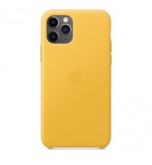 Apple iPhone 11 Pro Leather Case - Meyer Lemon (Seasonal Autumn 2019)