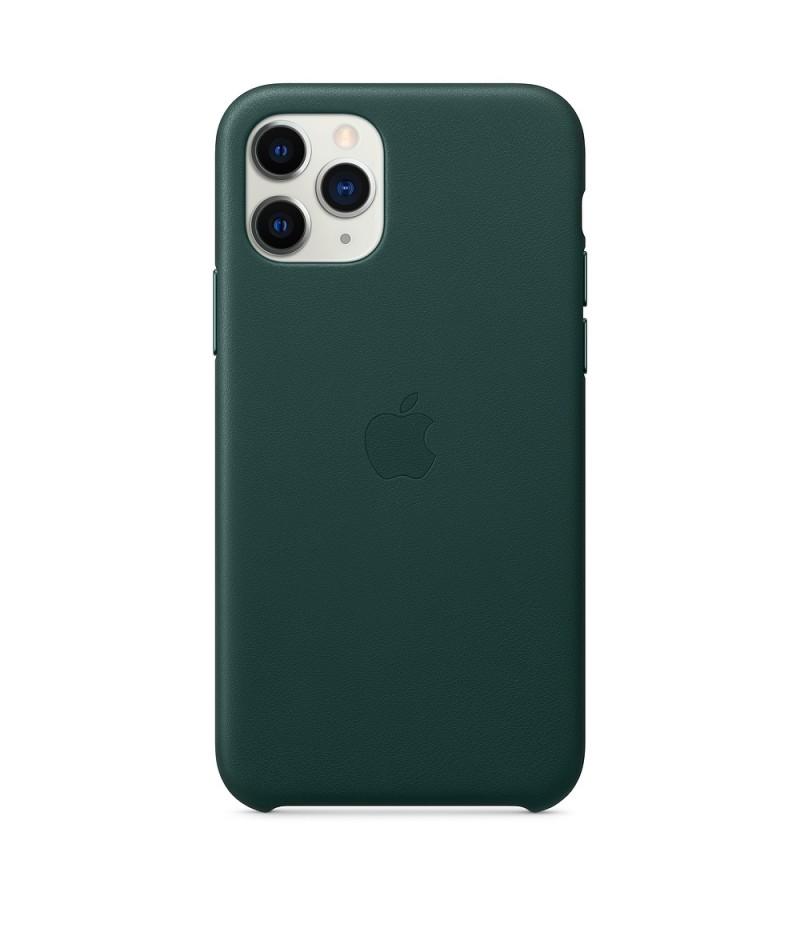 Apple iPhone 11 Pro Leather Case - Forest Green (Seasonal Autumn 2019)