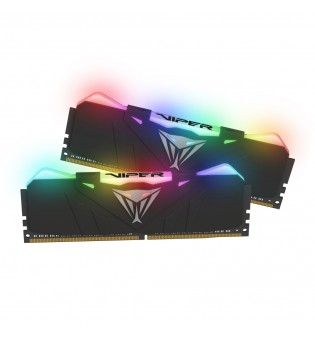 Patriot Viper RGB Black 16GB (2*8) 2666Mhz