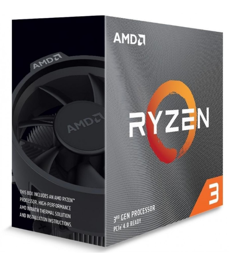 AMD Ryzen 3 3100(3.9GHz,18MB,65W,AM4) box, with Wraith Stealth cooler