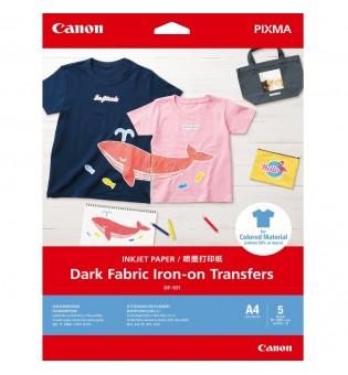 Canon Dark Fabric Iron-on Transfers A4
