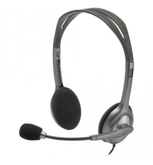 Стерео слушалки Logitech H111 One Plug 981-000593