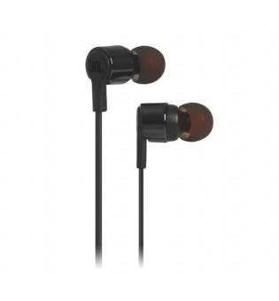 Слушалки JBL T210 BLK In-ear headphones JBLT210BLK
