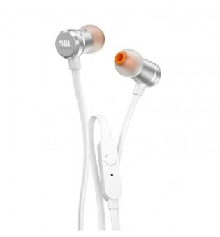 Слушалки JBL T290 SIL In-ear headphones JBLT290SIL