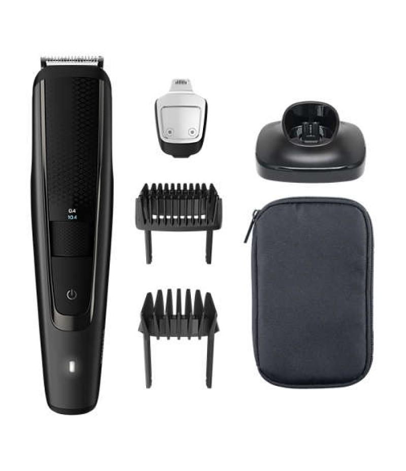 Тример за подстригване на брада Philips series 5000 + Тример за нос NT1150 BT5515/15