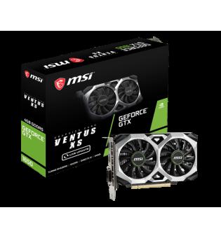 Видео карта MSI GTX1650 VENTUS XS 4G Live update 912-V809-3085