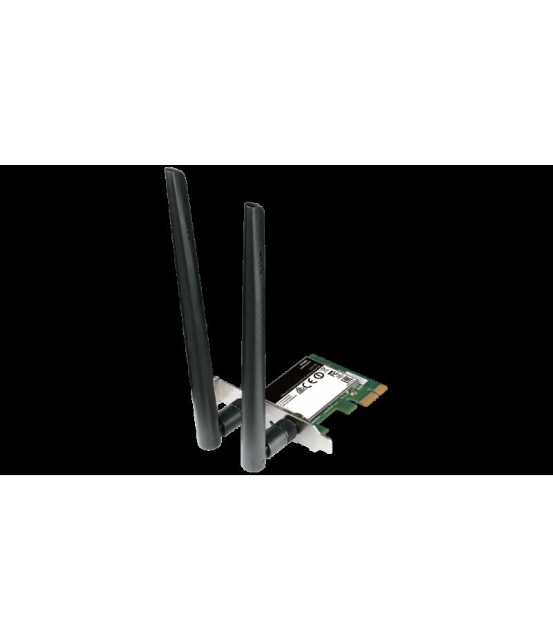 Безжичен адаптер D-Link Wireless AC1200 DualBand PCIe DWA-582