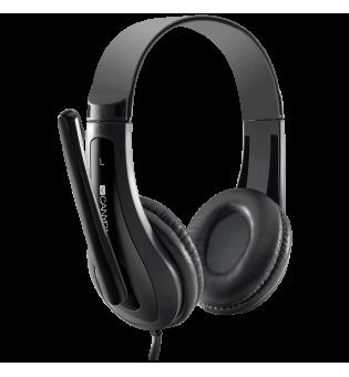 Слушалка с микрофон Canyon HSC-1 Black CNS-CHSC1B