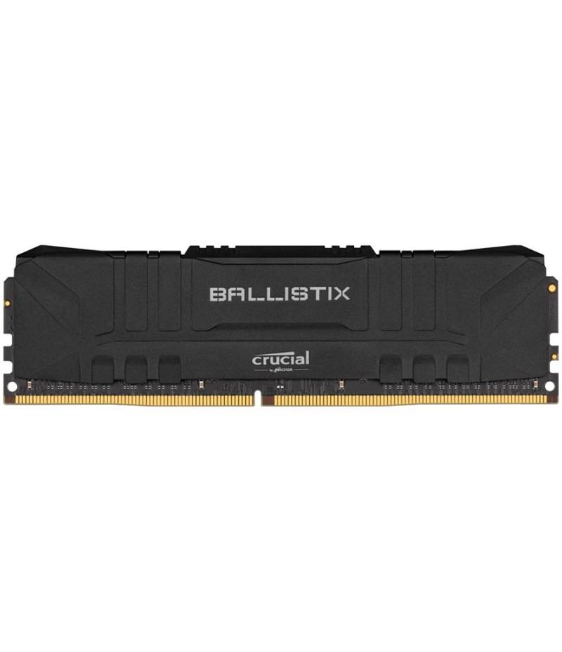 Компютърна памет Crucial DRAM Ballistix Black 8GB DDR4 2666MT/s DIMM 288pin BL8G26C16U4B