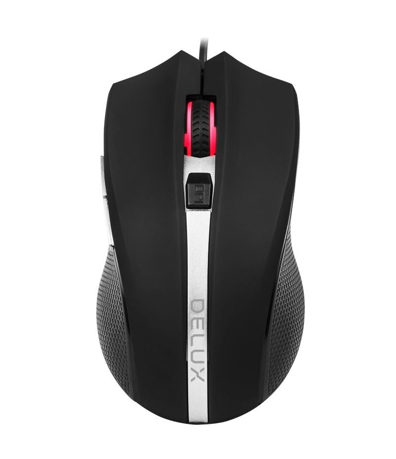 Оптична USB мишка Delux M516BU