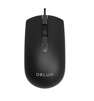 Оптична USB мишка Delux M322BU