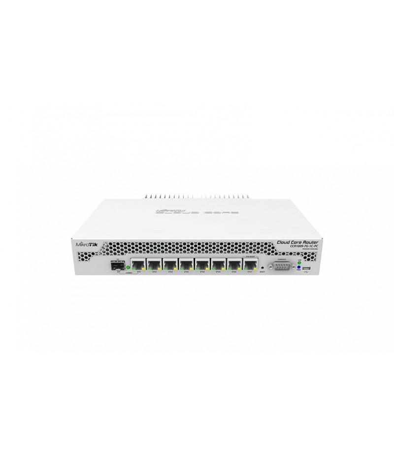 Cloud Core Router Mikrotik CCR1009-7G-1C-PC