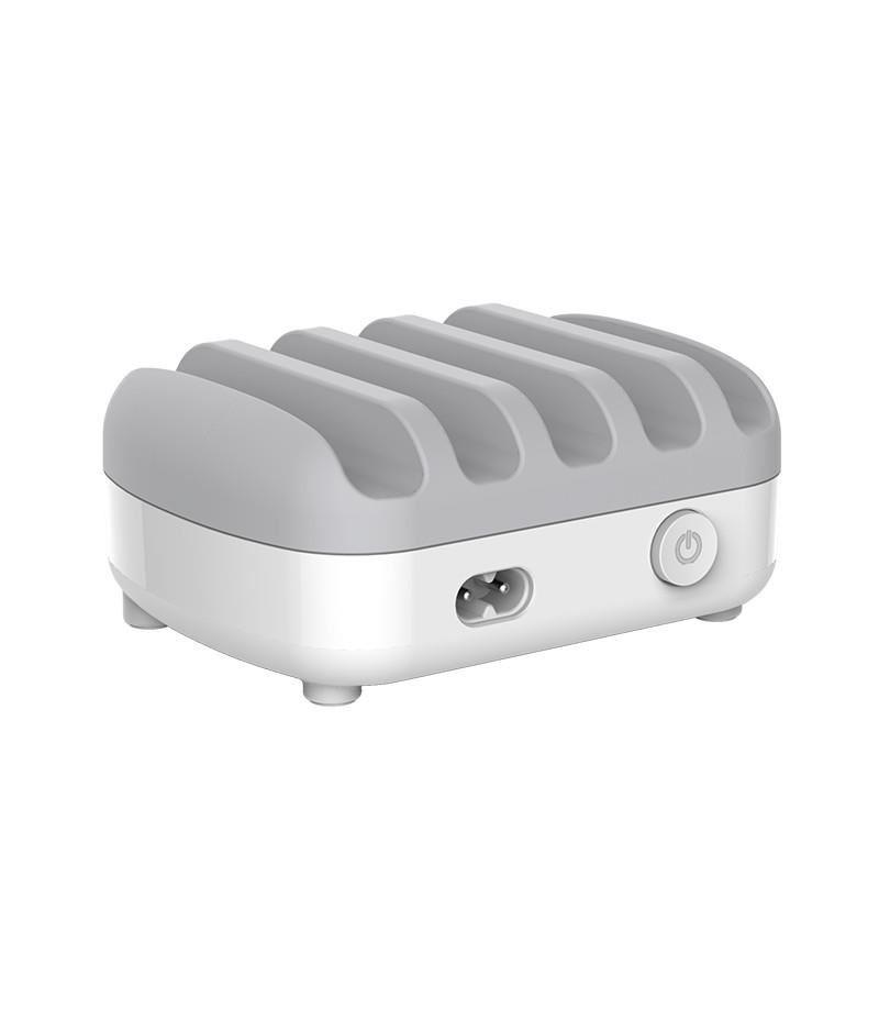 5-портово USB зарядно с поставка Orico DUK-5P-EU-WH
