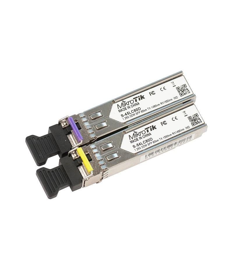 SFP модул Mikrotik S-4554LC80D Single LC-connectors
