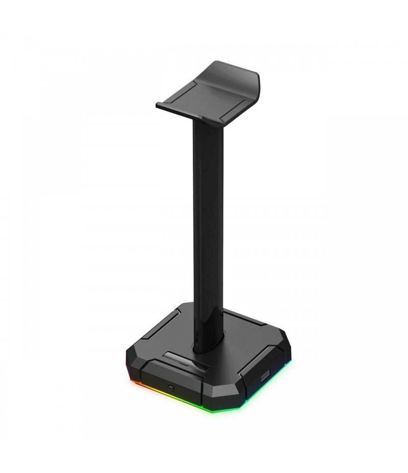 RGB стойка за слушалки Redragon Scepter Pro HA300-BK